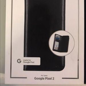 Pixel 2 wallet case mate
